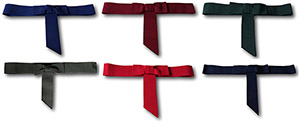 Traditional Girls Grosgrain Hatband With Rear Bow & Tails. Various Colours.