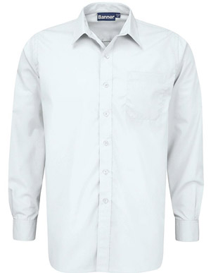 White Shirt - Long & Short Sleeve